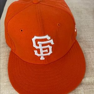 SF Giants Vintage Fitted Baseball Cap 7 1/8